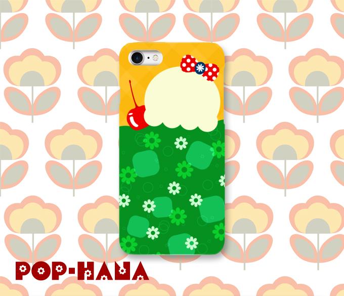 クリームソーダ iPhoneケース Androidケース