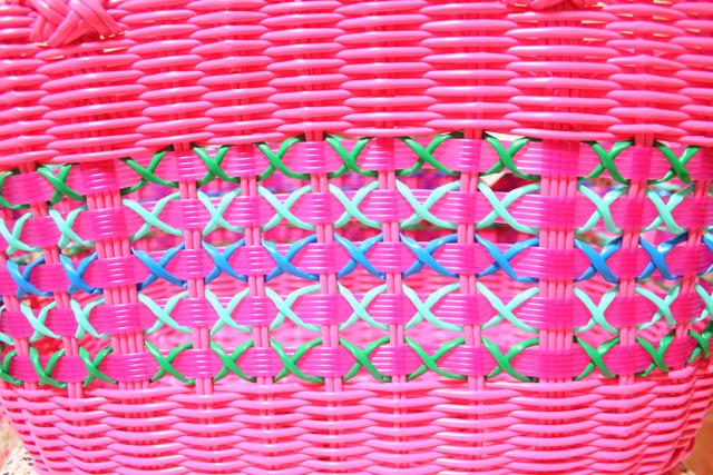 Flying Tiger(フライング・タイガー) バスケット ピンク