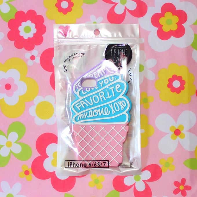 ガールズトレンド研究所コラボ第4弾のソフトクリームiPhoneケース