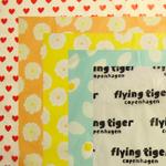 包み紙も可愛いFlying Tiger