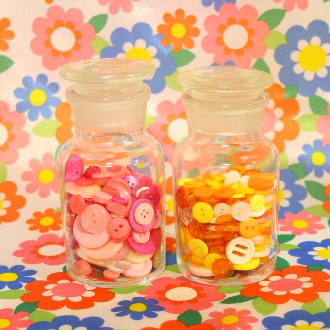 理系雑貨 薬瓶メディシンボトル ボタン