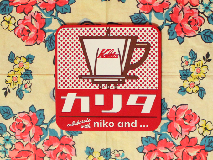 Kalita(カリタ) niko and …コラボ シリコンコースター