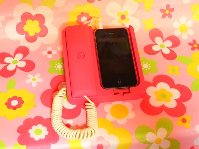 iPhone 受話器 Phone×Phone(フォンフォン)