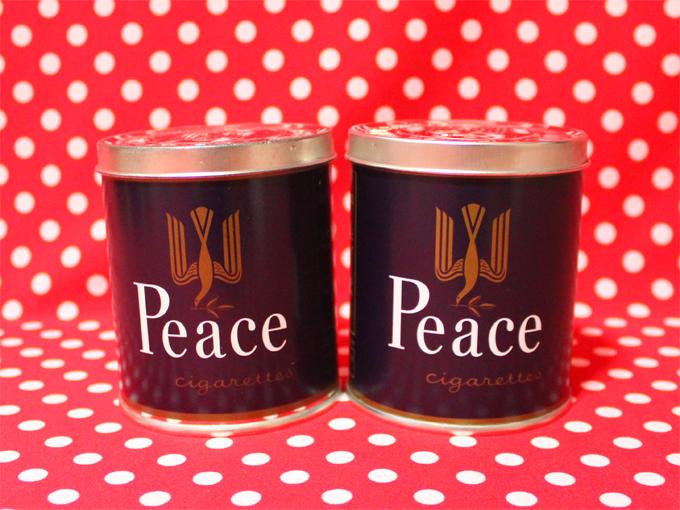 タバコ Peace(ピース) 缶 ピー缶