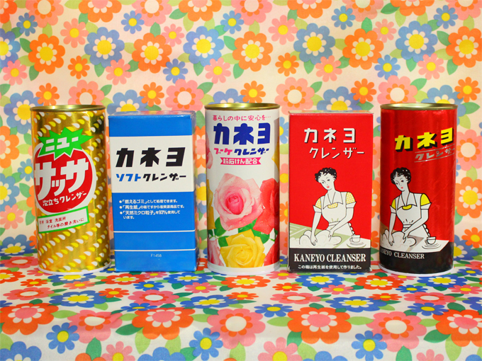 カネヨ 粉末クレンザー レトロ