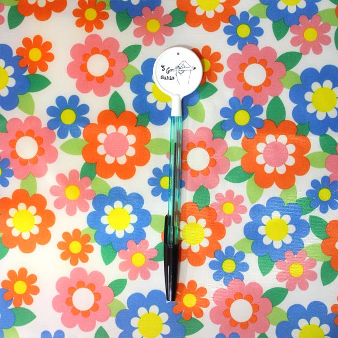 36(Sublo サブロ) オリジナル ボールペン ペロ ホワイト