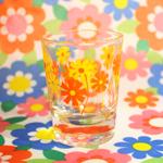 レトロで可愛いアデリアのショットグラス [ 石塚硝子 ]