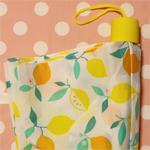 可愛いレモンの折り畳み傘 [ Flying Tiger ]