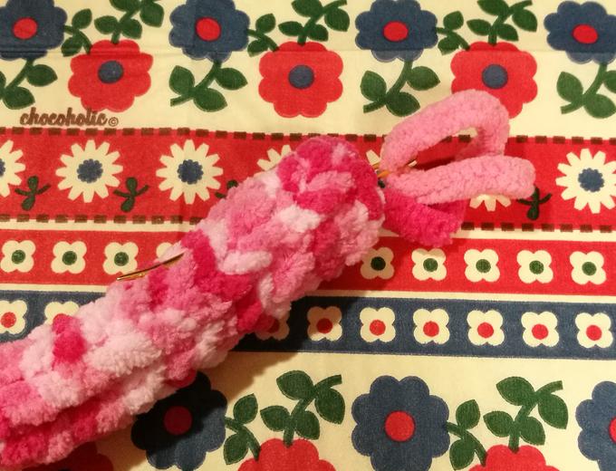 毛糸deリリアン ロリポップ ペロペロキャンディ 作り方