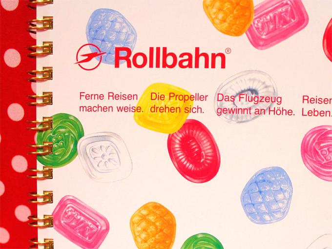 Yesterday's tomorrow(イェスタディズ トゥモロー) Rollbahn(ロルバーン) ノート