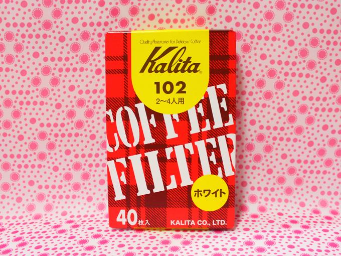 カリタ コーヒーフィルター 102ロシ ホワイト(40枚)
