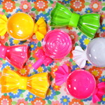 何個も欲しい、プラスチックの可愛いコンテナ [ RainbowSPECTRUM ]
