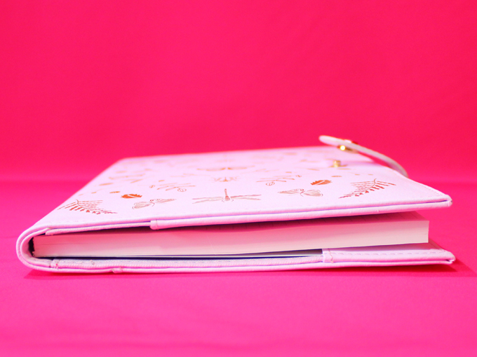 A5 LEATHER NOTEBOOK: WONDERFUL [ kikki.K ]