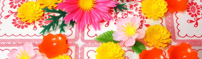 お刺身のアレ 食品装飾用 造花