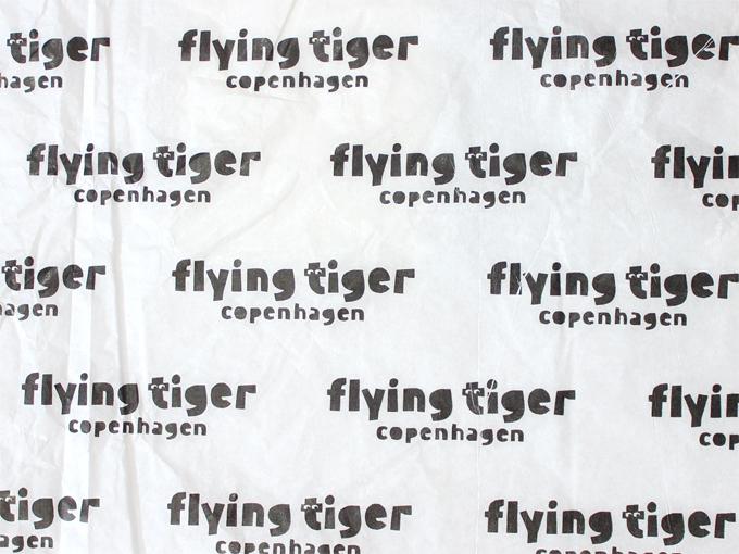2019年4月*フライング・タイガーの可愛い包み紙 [ Flying Tiger ]