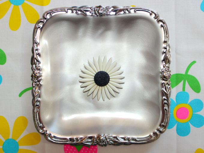 お花 フラワー ボタン ヴィンテージ