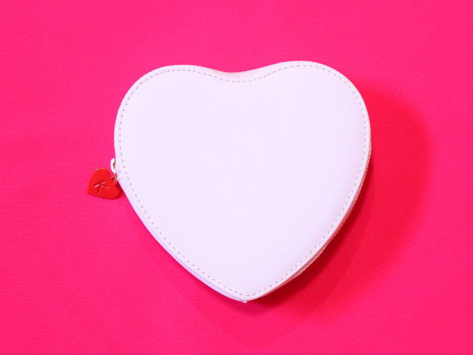 Leather Heart Coin Purse: Wonderful [ kikki.K ]