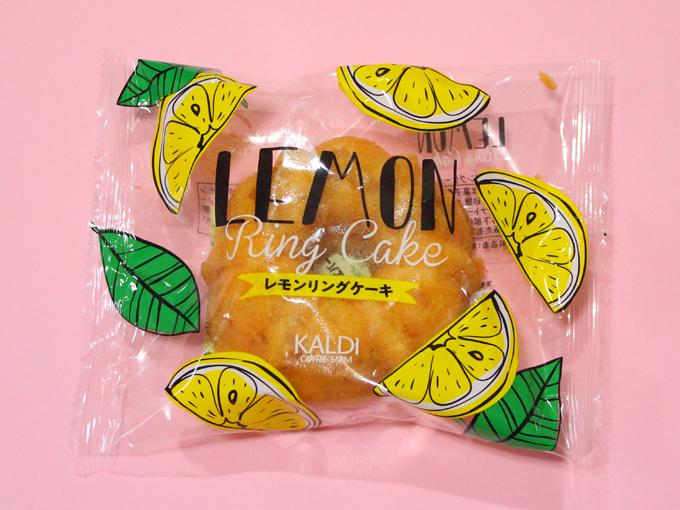 レモンリングケーキ*カルディ