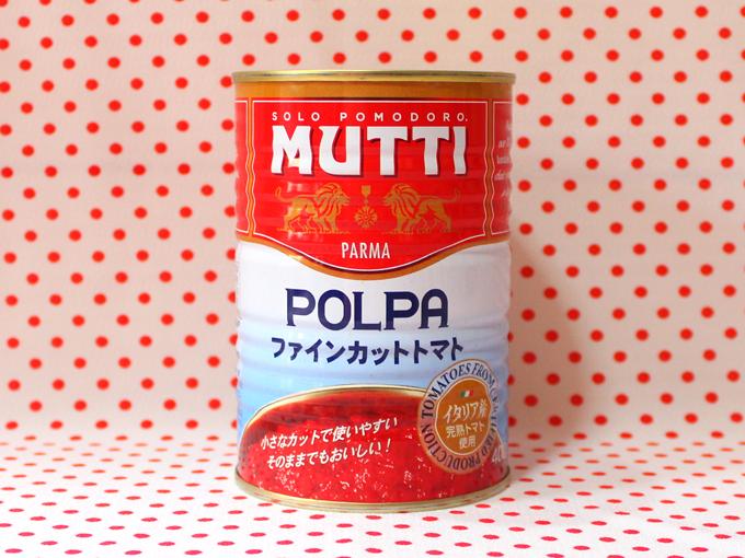 ムッティ ファインカットトマト*加藤産業