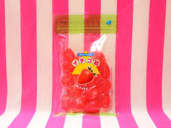 イチゴ飴*秋山製菓