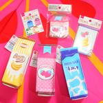 100円で買える、可愛い牛乳パックモチーフの文具たち [ Daiso ]