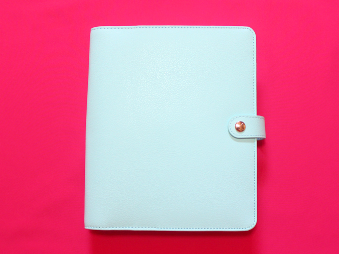 kikki.K Leather Personal Plannner Large: Mint