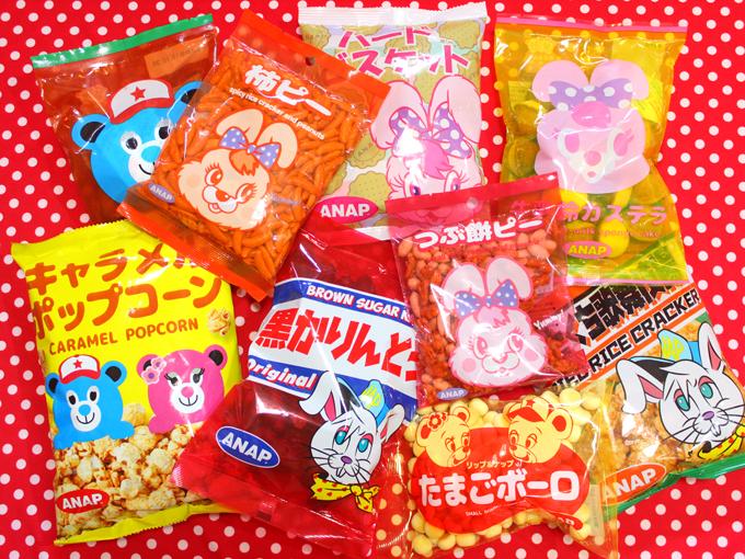 ANAP×コンフェックス コラボお菓子
