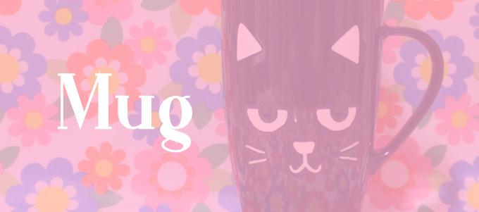 黒猫 マグカップ  [ Flying Tiger(フライングタイガー) ]