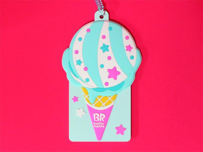 ポッピングシャワー パスケース サーティワンアイスクリーム