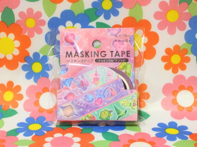 Twinkle Magicシリーズ マスキングテープ [ Seria(セリア) ]