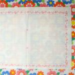 バラの飾り枠が可愛い原稿用紙 [ Daiso ]