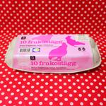 スウェーデンのタマゴパックが可愛い