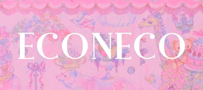 ECONECO エコネコ シートクッション スクエア型 [ ミカヅキモモコ ]