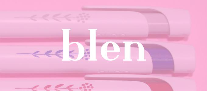 blen (ブレン) 0.5mm ロハコ限定柄 3色セット [ ZEBRA(ゼブラ) ]