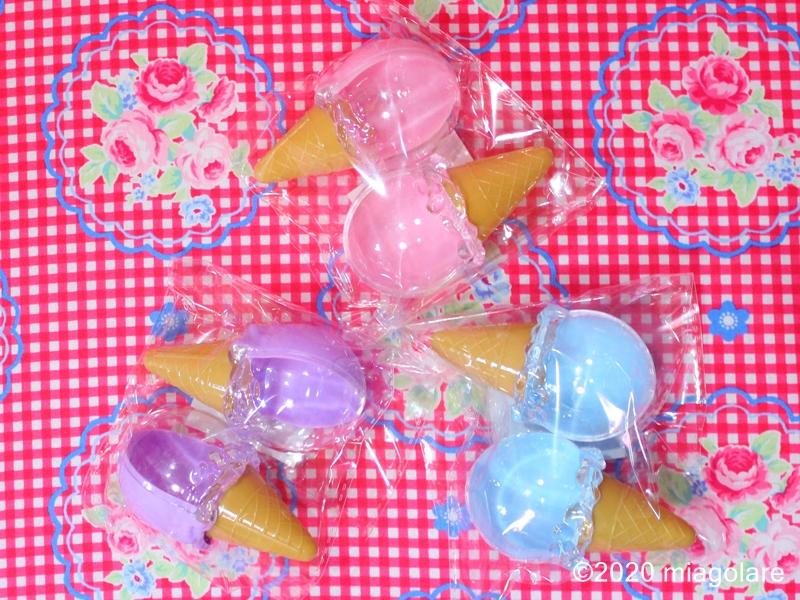 アイスクリーム型 プラスチックケース [ Seria(セリア) ]
