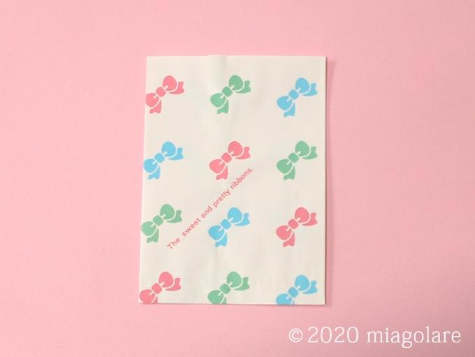 紙袋 カラフルリボン HEIKO ヘイコー シモジマ
