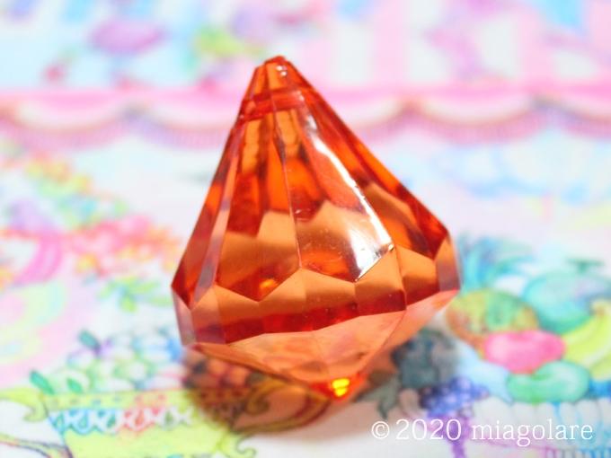ダイヤ型アクリルパーツ