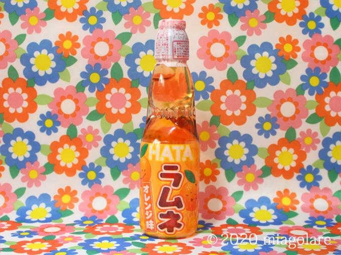 瓶ラムネ オレンジ [ ハタ鉱泉 ]