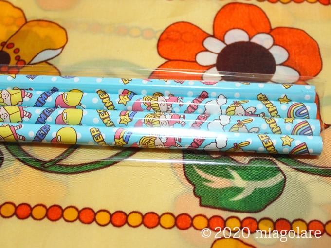 るんるんえんぴつセット 鉛筆4本セット [SWIMMER(スイマー)]