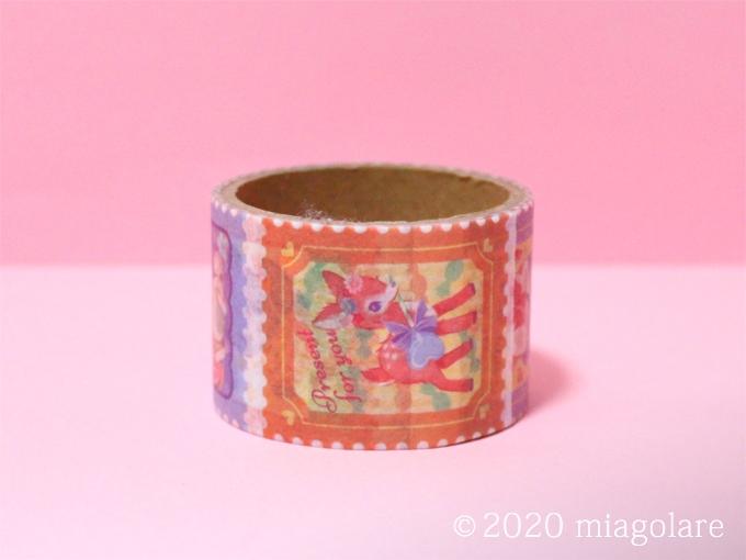 マスキングテープ レトロ切手風アニマル [ Seria(セリア) ]