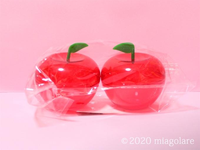 ダイカットプラケース リンゴ [ Seria(セリア) ]