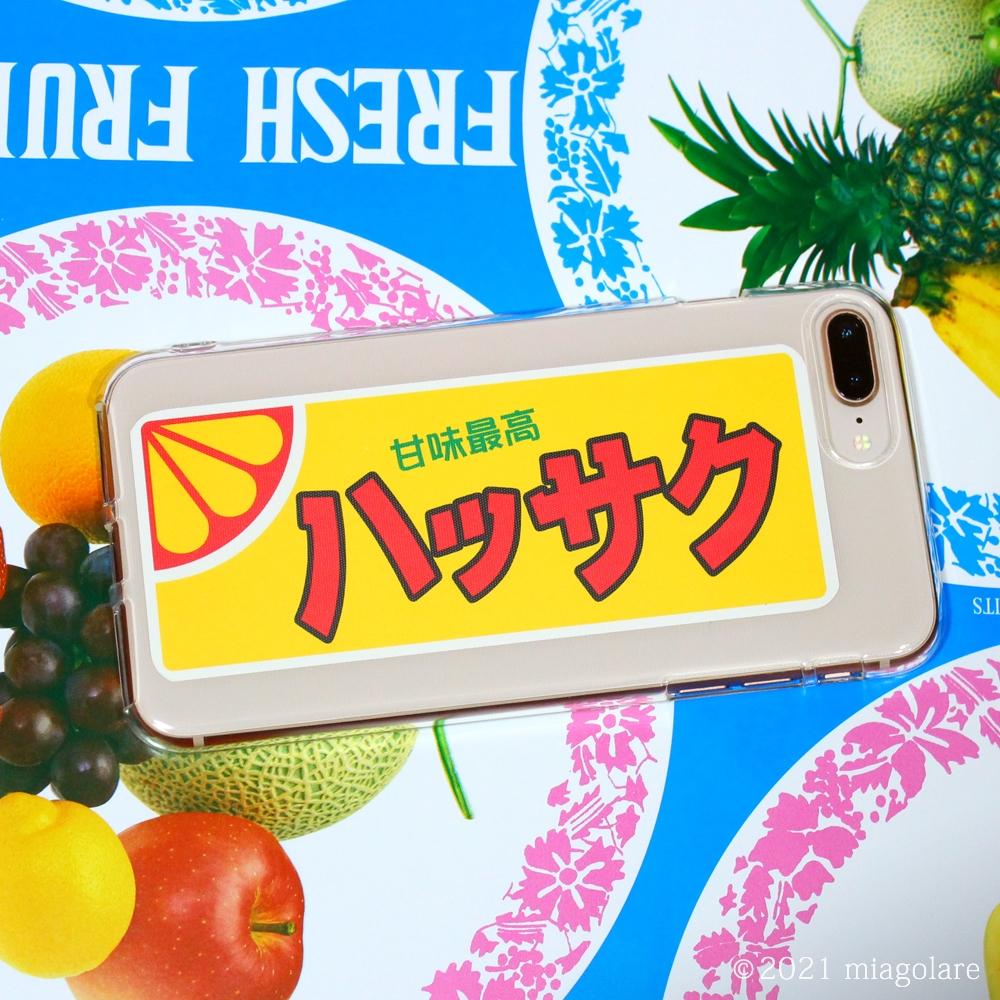 フルーツラベル ネットラベル iPhoneケース
