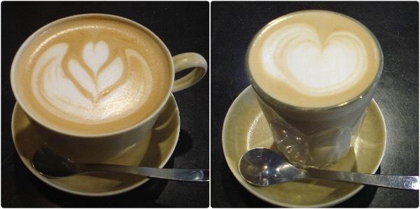 サイクルカフェのコーヒー