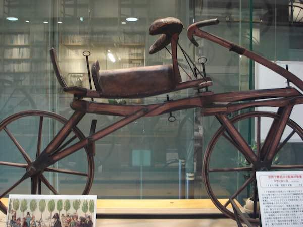 世界初の自転車