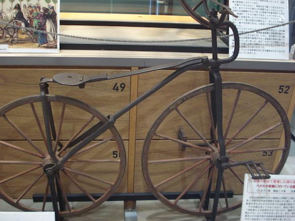 日本初の自転車