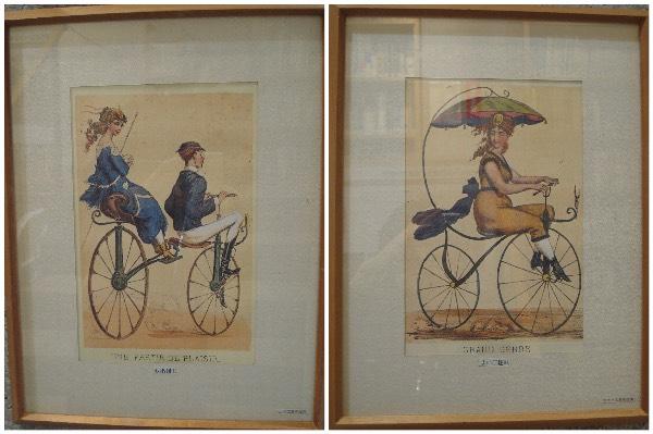 自転車文化センター自転車のイラスト