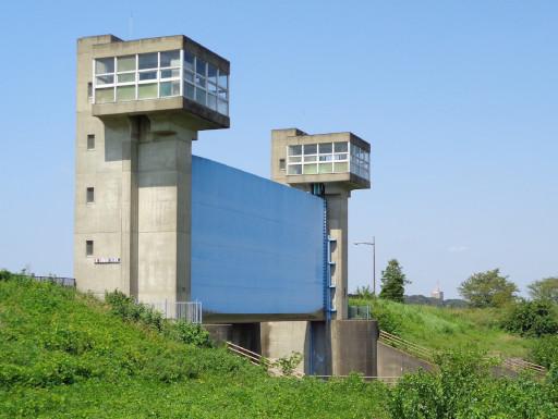 利根運河 水門
