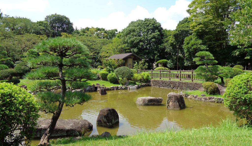 日本庭園 千葉県 柏 あけぼの公園 無料