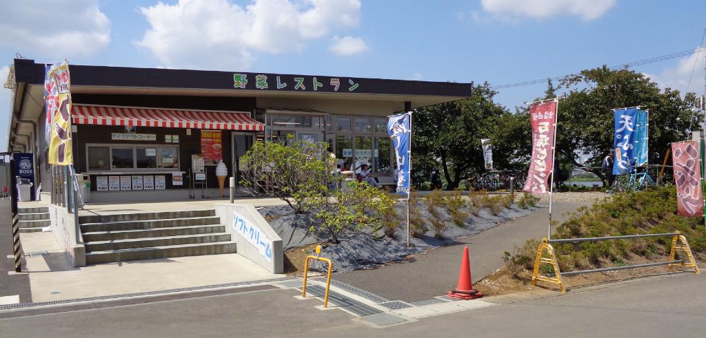 野菜レストラン 道駅しょうなん 手賀沼 サイクリング ランチ 道の駅 千葉県 柏