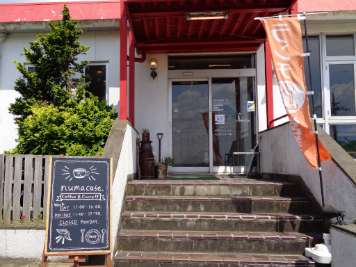 numa cafe 手賀沼 フィッシングセンター ランチ カフェ